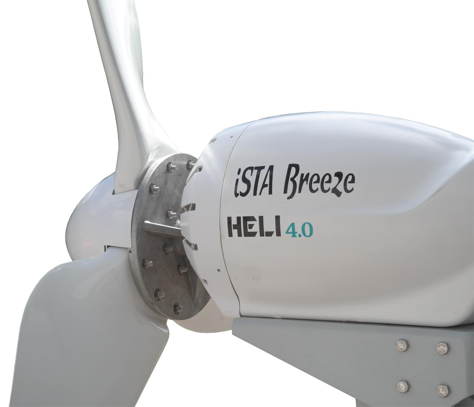 Heli 4 0 offgrid Wind Turbine